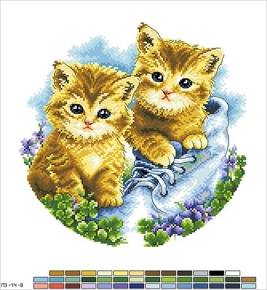 Схеми на канві для вишивки хрестиком - подушки 6af208e222661
