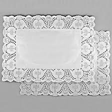 Confectionery napkins lace