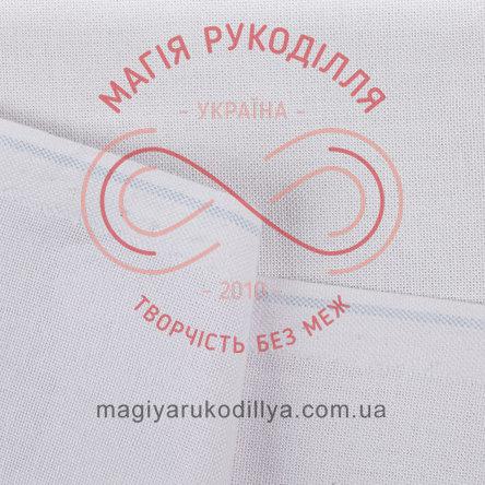 Тканина МавкаТП-28; 50%бавовна;50%поліестр шир.1,5м (Україна) - білий