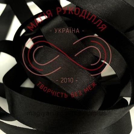 Стрічка Peri атласна 3мм (Китай) - чорний