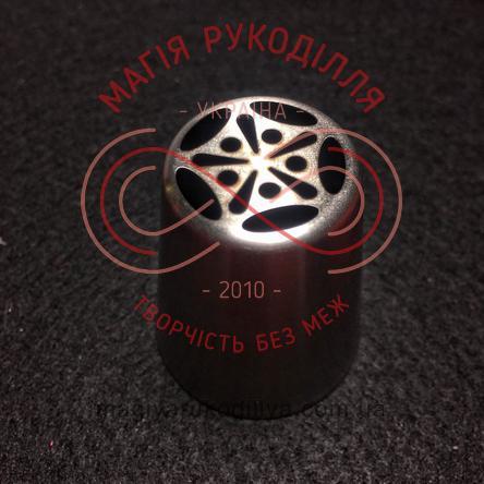 Кондитерський інструмент насадка нержавійка безшовна d23мм аврора