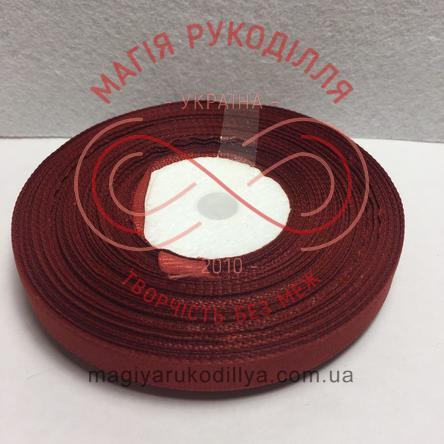 Стрічка репсова 9мм/23м - відтінки коричневого