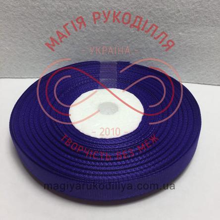Стрічка репсова 9мм/23м - відтінки синього