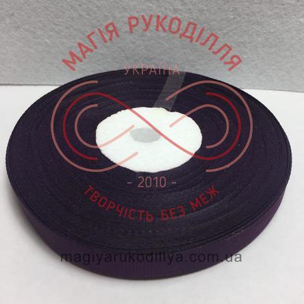 Стрічка репсова 9мм/23м - відтінки фіолетового