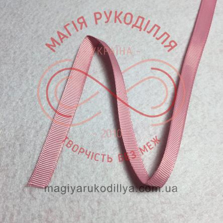 Стрічка репсова 9мм - відтінки рожевого