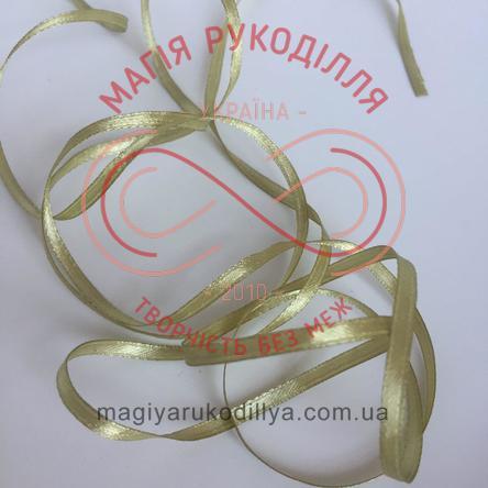 Стрічка Peri атласна 3мм (Китай) - відтінки оливкового