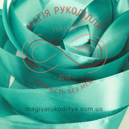 Стрічка Peri атласна 3мм (Китай) - №148 відтінки бірюзового