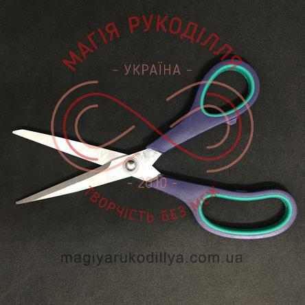 Ножиці кравецькі пластикова ручка довжина леза 8,5см, загальна довжина 21,5см, потовщене лезо - №8