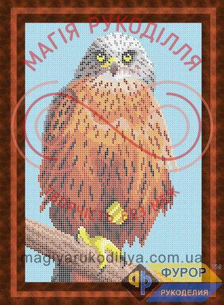 Схема для вишивання бісером картина - ЖБп4-13 Птах орел