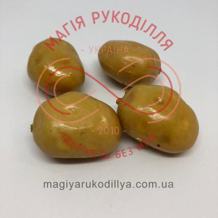 Овочі картопля h3.5см - гірчичний