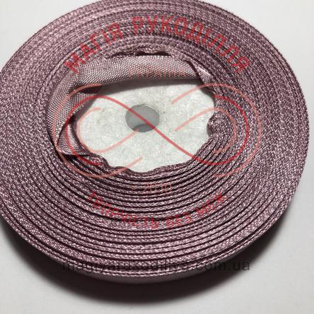 Стрічка атласна 12мм/32,9м (Китай) - відтінки рожевого