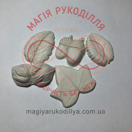 Гіпсоформа горішок, листочок