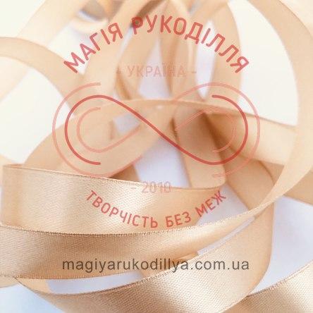 Лента Peri атласная 38мм (Китай) - №018 оттенки бежевого