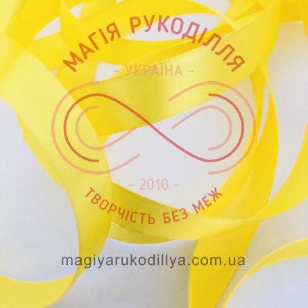 Лента Peri атласная 38мм (Китай) - №025 оттенки желтого