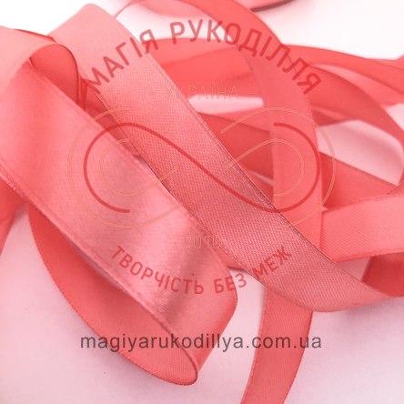 Лента Peri атласная 38мм (Китай) - №049 оттенки розового