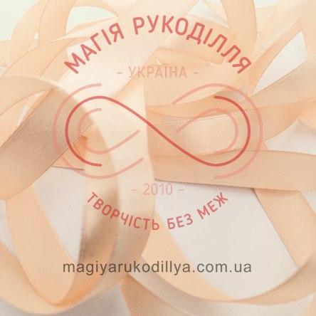 Лента Peri атласная 38мм (Китай) - №050 оттенки абрикосового