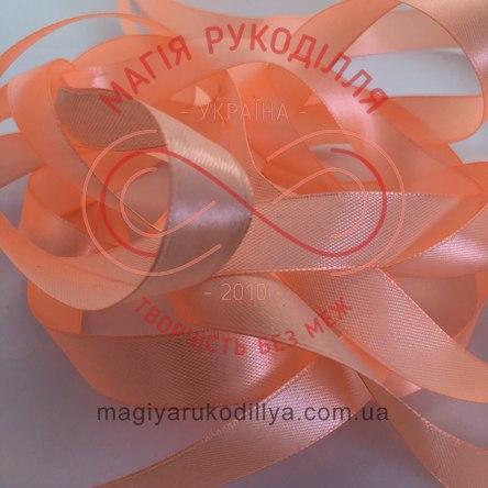 Стрічка Peri атласна 38мм (Китай) - №056 відтінки помаранчевого неонового