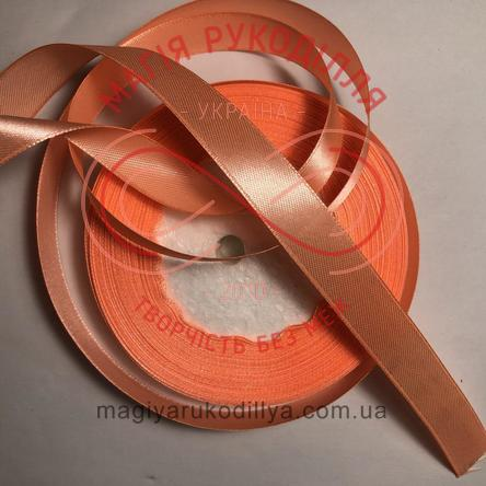 Лента Peri атласная 38мм (Китай) - №056 оттенки оранжевого неонового