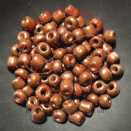 Бісер Китай 6/ваговий - №007/KQ39 шоколадний перлистий