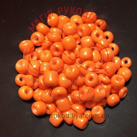 Бісер Китай 6/ваговий - №008/KQ18 помаранчевий перлистий