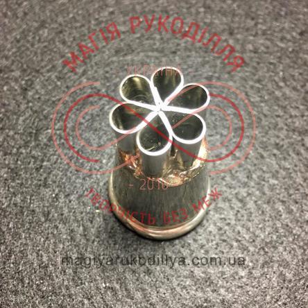 Кондитерський інструмент насадка нержавійка безшовна d23мм малазійські квіти №3