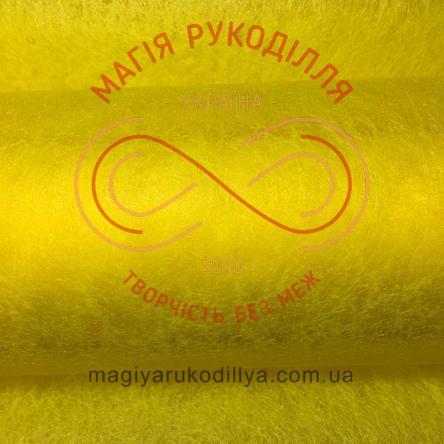 Флористичний флізелін - №07 жовтий