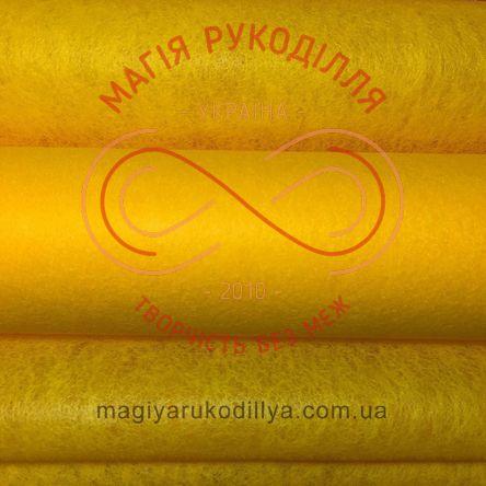 Флористичний флізелін - №08 світлий помаранчевий