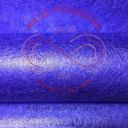 Флористичний флізелін - №28 синій