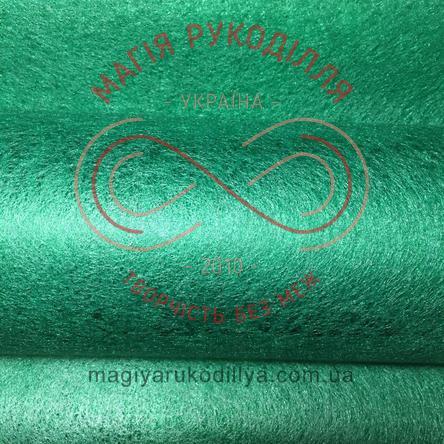 Флористичний флізелін - нефритовий