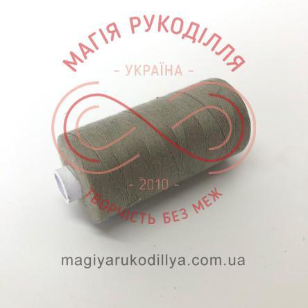 Нитка Kupfer 120 універсальна - №4371 відтінки сірого