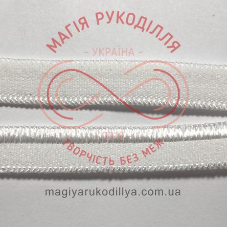Обробна резинка ширина 7мм - 07W1534 білий