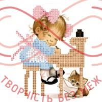 Набір для вишивання бісером - НБ1 09/Р Листи щастя