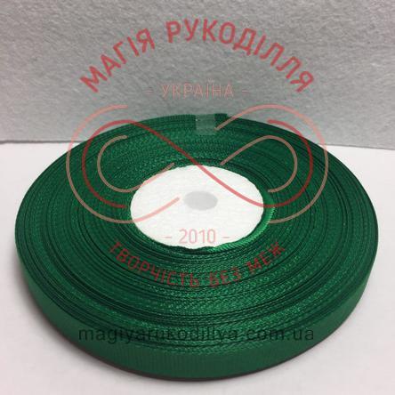 Стрічка репсова 9мм/33м - відтінки зеленого