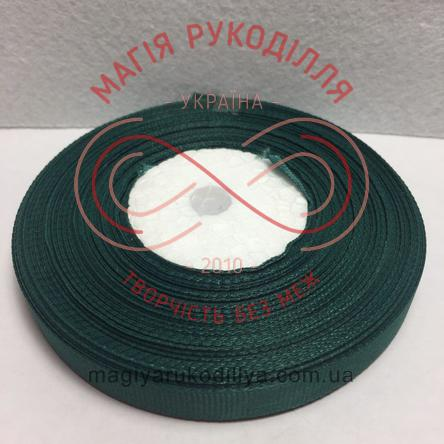 Стрічка репсова 9мм/23м - відтінки зеленого