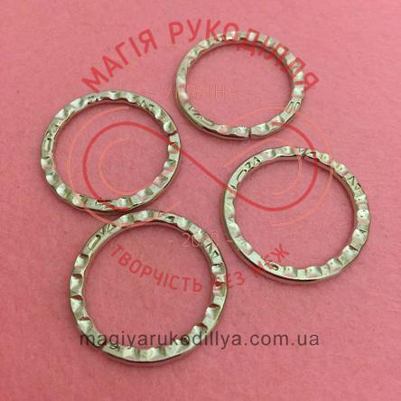 Кільце з'єднувальне d20мм - сріблястий