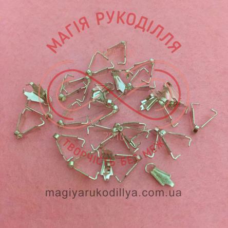 Каллот для нитки 8мм*2мм - сріблястий