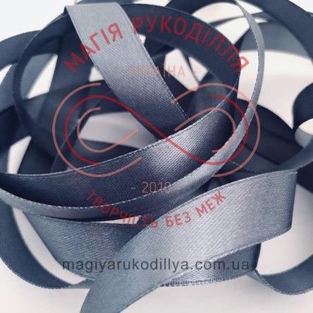 Стрічка Peri атласна 10мм(Китай) - №124 відтінки сірого