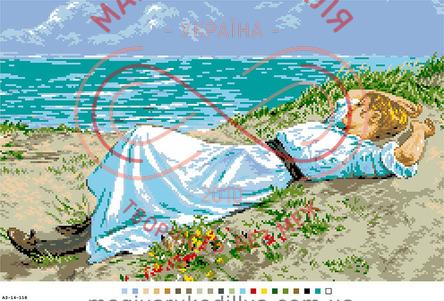 Схема на канві для вишивання хрестиком картина - А3-14-118