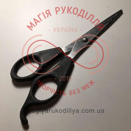 Ножиці канцелярські пластикова ручка довжина леза 9см