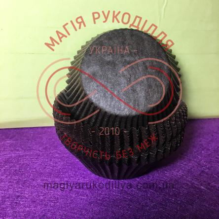 Кондитерская бумажная форма для кекса d5см h3см - коричневый