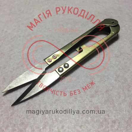 Ножиці-сікатори сталеві однокольорові ручки
