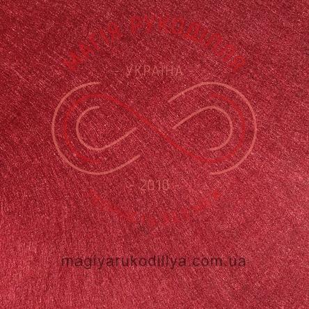 Фетр жорсткий - №17 відтінки бордового
