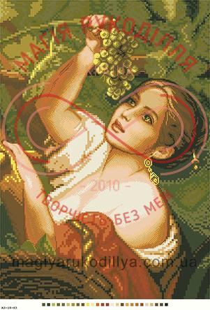 Схема на канві для вишивання хрестиком картина - А3-18-63