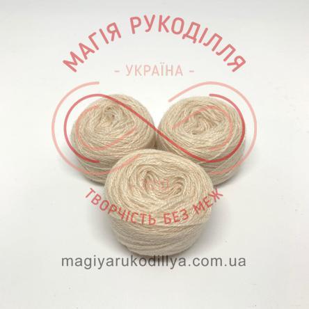 Нитка акрилова для вишивання - №157/101 відтінки бежевого