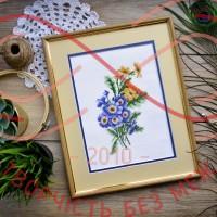 Набір для вишивання хрестиком - П6-020/Р Першоцвіт