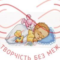 Набір для вишивання хрестиком - П1-010/Р Солодкі сни