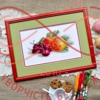 Набір для вишивання хрестиком - П7-002/Р Натюрморт з персиками