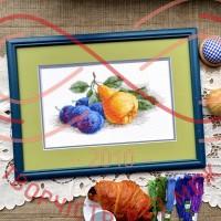Набір для вишивання хрестиком - П7-001/Р Натюрморт з грушею