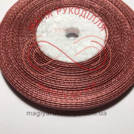 Стрічка атласна 6мм/32,9 (Китай) - відтінки рожевого