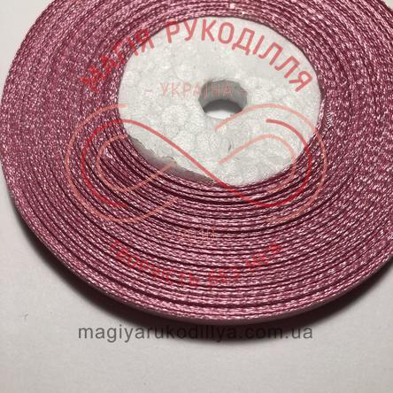 Стрічка атласна 6мм/32.9 (Китай) - відтінки рожевого